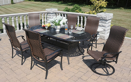 Dwl Patio Furniture Outdoor Amp Patio Table Sets Nj Wholesale